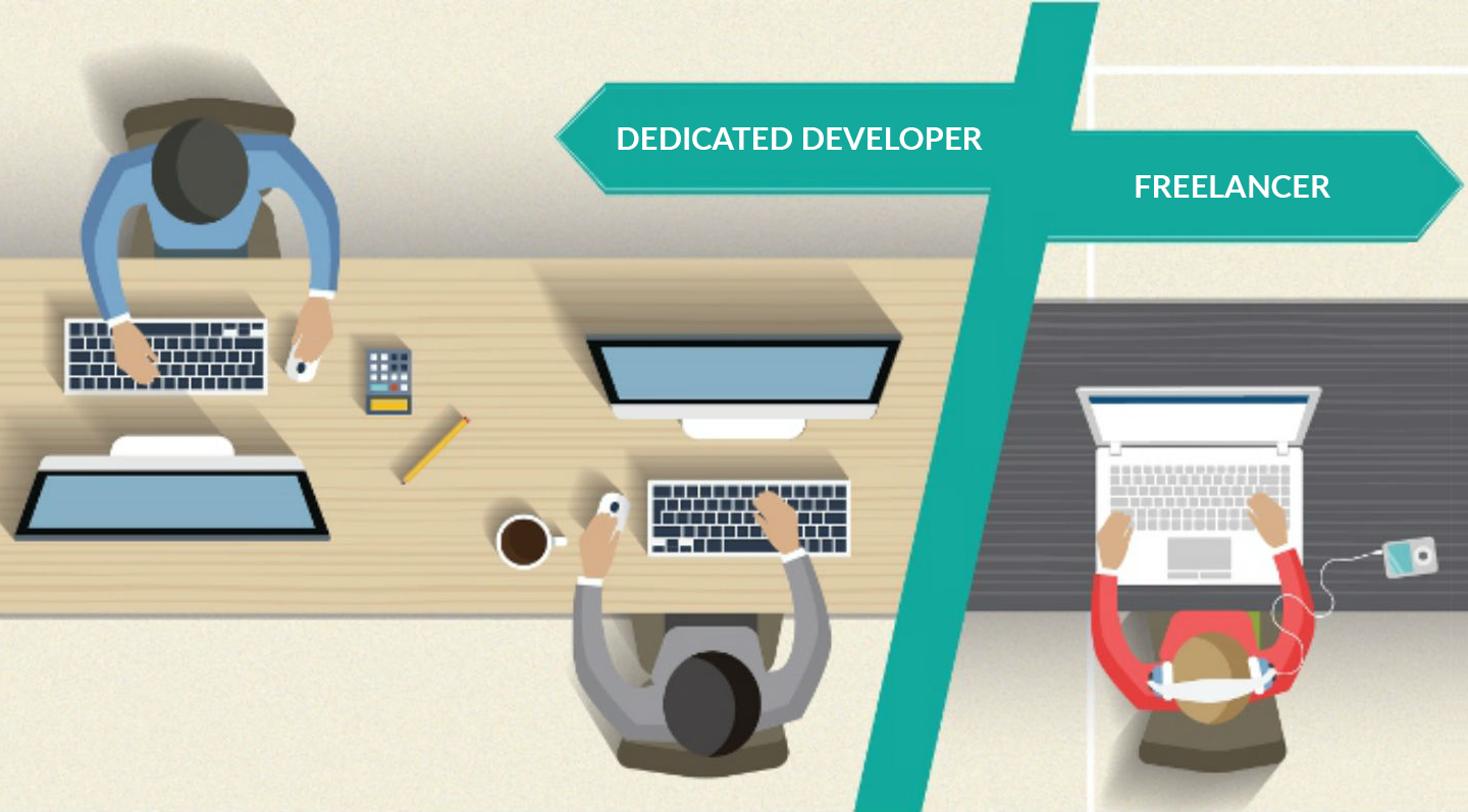 Freelancer Vs. Dedicated Developer