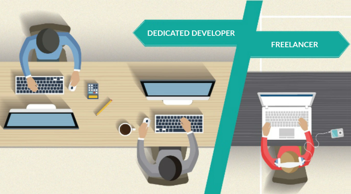 Freelancer Vs. Dedicated Developer