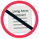 No long term contracts to hire phonegap app developers